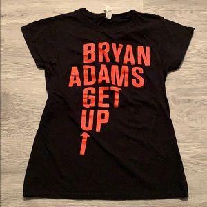 Tops - Bryan Adams tour tee women's cut